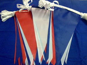 Red, White & Blue Knitted Bunting