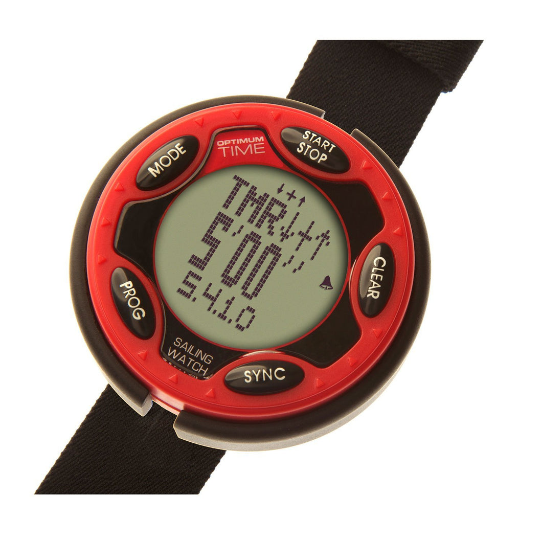 Optimum Time OS1436 Timing Watch for sailing, racing & events, elasticated strap