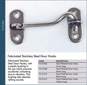 Cabin Door Hook 84mm
