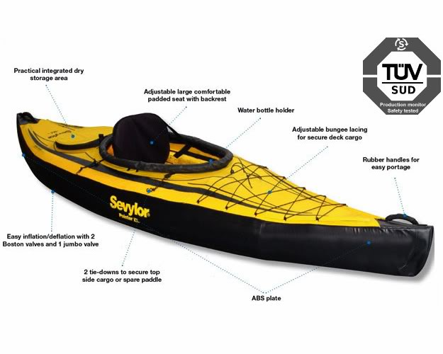 Pointer K1 Inflatable Kayak