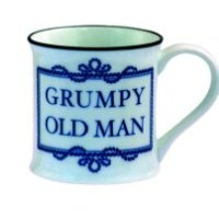 Grumpy Old Man Porcelain Mug