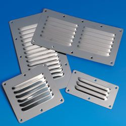 Louvered Vent 127 x 115mm