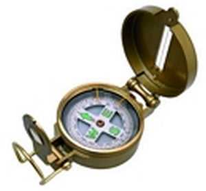 Brassed Alloy Bearing Compass