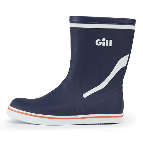 Gill Short Cruising Boots - 100% natural rubber for sailing