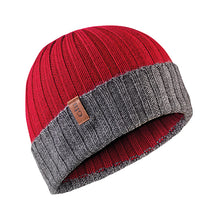 Gill Wide Rib Knit Beanie Hat