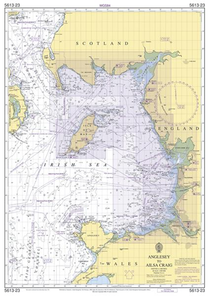 Chart Folio SC5613 Irish Sea Eastern Ports
