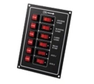 6 Way Fuse/Switch Panel