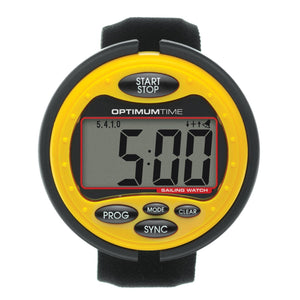 Optimum Time OS315 Yellow Watch for Sailing and Event timing