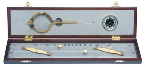 Weems & Plath Elegant Navigation Set - high quality nautical gift