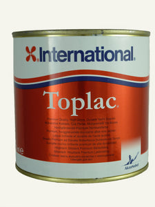 International Toplac high-gloss durable yacht enamel - 750ml, for marine use