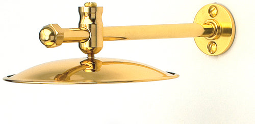 Heat Shield for Gipsy Moth Oil Lamp - quality brass nautical accessory