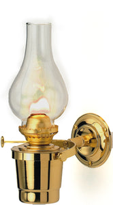 Gipsy Moth Oil Lamp - quality brass nautical cabin lamp
