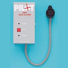 Pilot Gas Alarm - one sensor