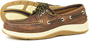 Orca Bay Squamish Men's Performance Deck Shoe - 100% hand-stitched leather