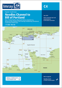 C4 Needles to Bill of Portland Chart Imray