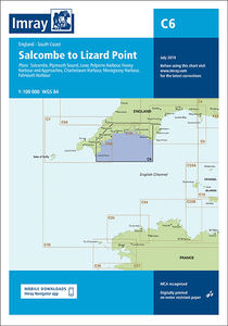 C6 Salcombe to Lizard Point Chart Imray