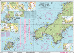 C7 Falmouth to Isles of Scilly & Trevose Head Chart Imray