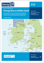 C53 Donegal Bay to Rathlin Island Chart Imray