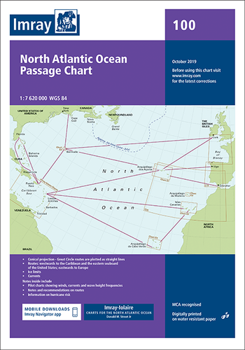 100 Atlantic Routeing Chart