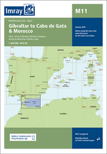 M11 Costa del Sol - Gibraltar to Cabo de Gata and Morocco Imray.