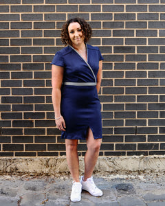 Merino Cooee Dress