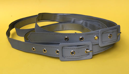 Reflective belt with buckle