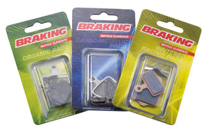 Braking CARBO-METALLIC PADS