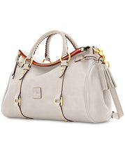 Florentine Vaccheta Leather Satchel