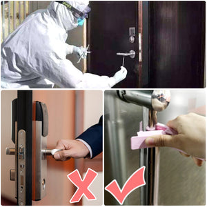 Portable Press  Hand Stick Door Handle Self sterilizing And Preventing Secondary Contact Tools Protective Equipment 2pc|Tool Parts|Tools
