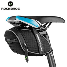 ROCKBROS Bike Bag 3D Shell Rainproof Saddle Bag Reflective Bicycle Bag Shockproof Cycling Rear Seatpost Bag MTB Bike Accessories