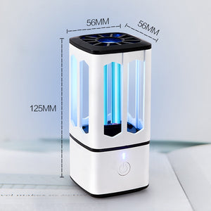 Ultraviolet Disinfection Lamp Portable UV Germicidal Lamp USB Rechargeable UVC Sterilizer Light Bulb Kill Mite Sterilizer Light