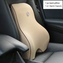 Car Cushion Seat Lumbar Support Office Chair Low Back Pain Pillow Memory Foam Black Posture Correction Car Product Dropshipping