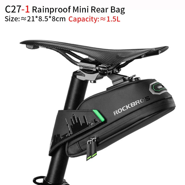 ROCKBROS Rainproof Bicycle Bag Shockproof large-capacity