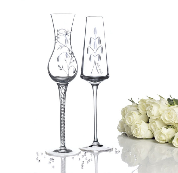 The Bilauri Deluxe Crystal Glassware Collection