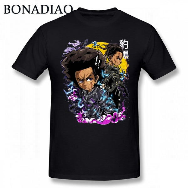Boondocks Riley Huey Freeman Mindful tEE