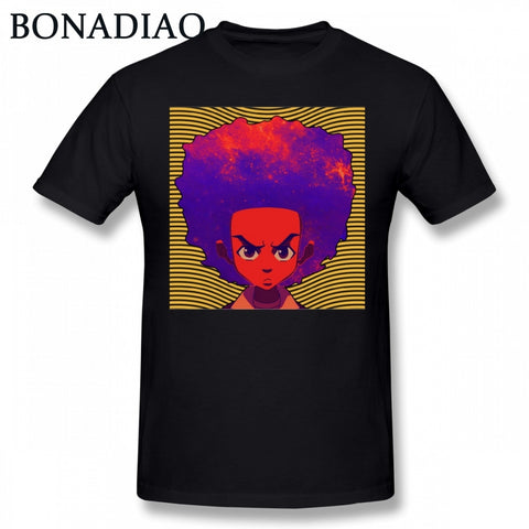 Boondocks Represent Cartoon Graphic Teez