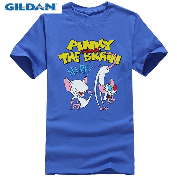 Pinky and the Brain T-Shirt - Narf Brain tEE