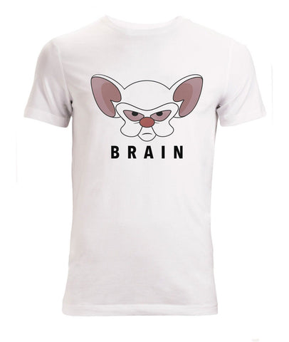 Pinky And The Brain Think Like a Brain Cartoon tEE