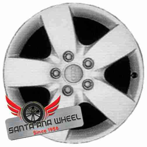 "16"" AUDI A6 03-04 16x7 (alloy), 5 spoke, wide spoke Original OEM Wheel Rim 58753 - OEM WHEEL SHOP"