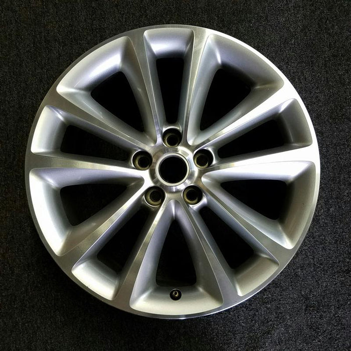"18"" VERANO 15 18x8, 10 spoke, (machined finished), opt RV3 Original OEM Wheel Rim 4134 - OEM WHEEL SHOP"