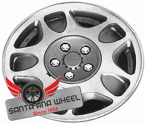"15"" MAZDA RX7 89-90 15x6, alloy, 5-double spoke Original OEM Wheel Rim 64726 - OEM WHEEL SHOP"