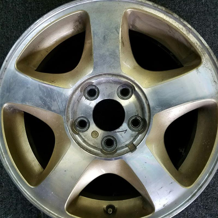 "16"" VILLAGER 01-02 16x6 (aluminum), 5 spoke (silver pockets) Original OEM Wheel Rim 3321B - OEM WHEEL SHOP"