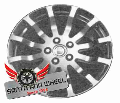 "17"" CTS 06-07 17x7-1/2 (alloy), 12 spoke (opt P46) Original OEM Wheel Rim 4642 - OEM WHEEL SHOP"