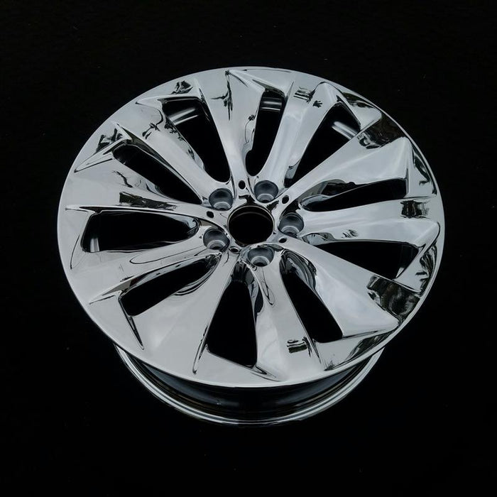 "19"" BMW ACTIVEHYBRID 7 11-15 19x8-1/2 (alloy), 10 spoke (front), directional wheel, R. Original OEM Wheel Rim 71463 - OEM WHEEL SHOP"