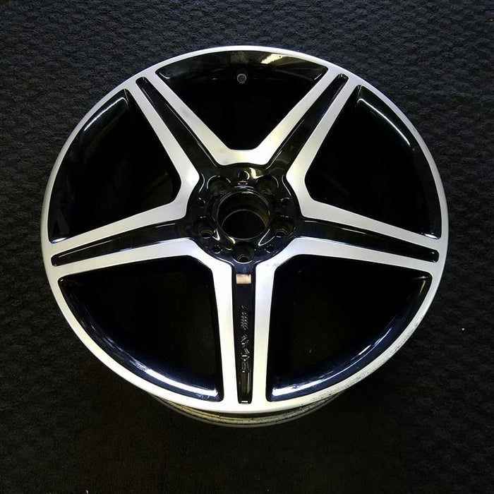 "19"" MERCEDES S-CLASS 10 221 Type; S450 19x9-1/2 (5 spoke) Original OEM Wheel Rim 85118"