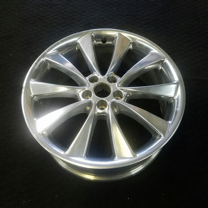 "20"" FLEX 11-12 20x8 (10 spoke, aluminum), polished Original OEM Wheel Rim 3846B - OEM WHEEL SHOP"