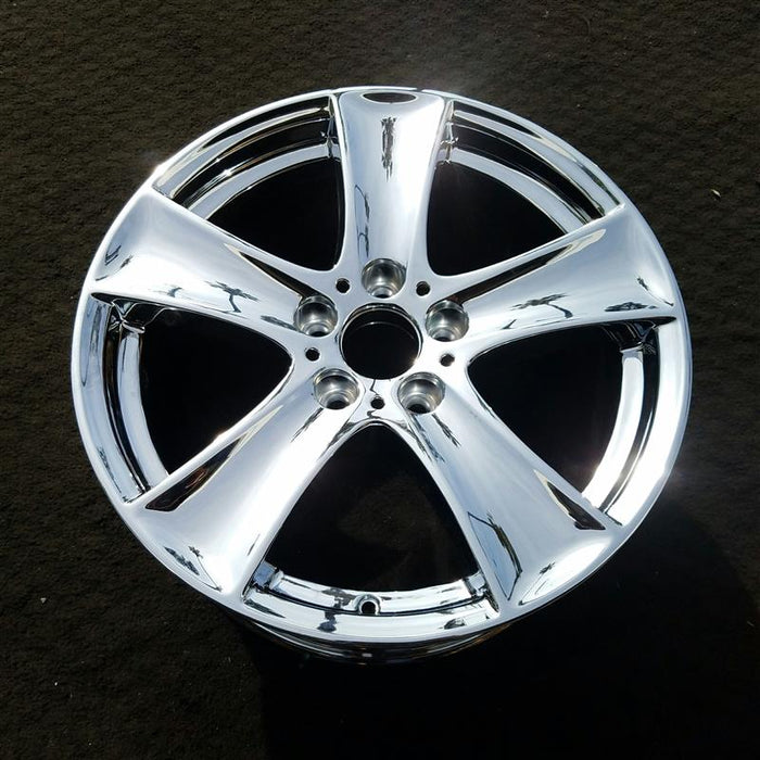 "18"" BMW X5 07-13 18x8-1/2 (alloy), 5 spoke, cupped spoke Original OEM Wheel Rim 86076"