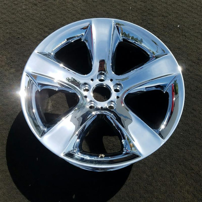 "19"" BMW X6 08-10 19x9 (alloy), rear (18mm offset), (5 spoke), flared spoke Original OEM Wheel Rim 71278"