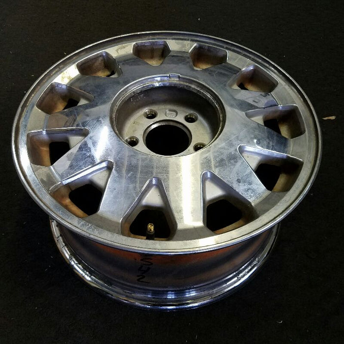 "16"" DEVILLE 98-99 16x7 (aluminum), 11 slot, silver finish (opt QC4) Original OEM Wheel Rim 4542"