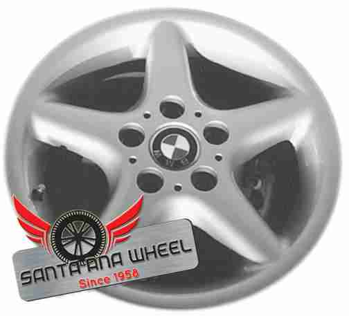 "16"" BMW 528i 97-00 16x7 (alloy), 5 round spoke Original OEM Wheel Rim 59247"